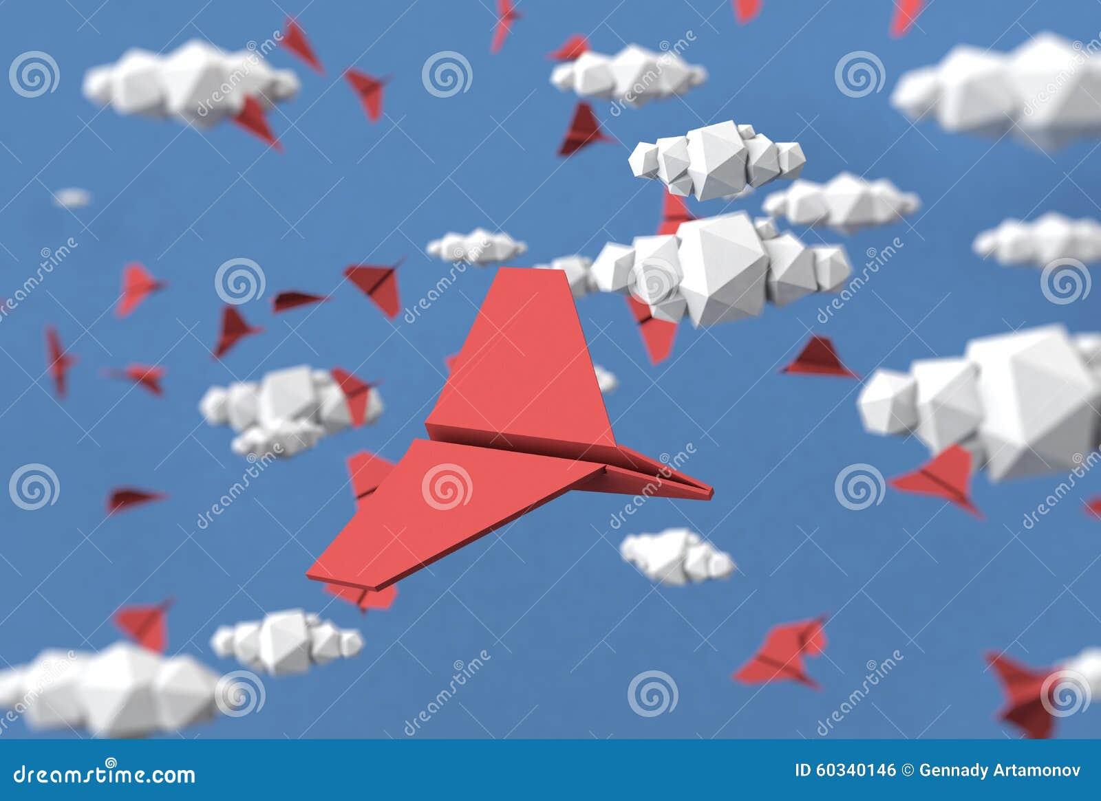 paper plane stock illustration -#main