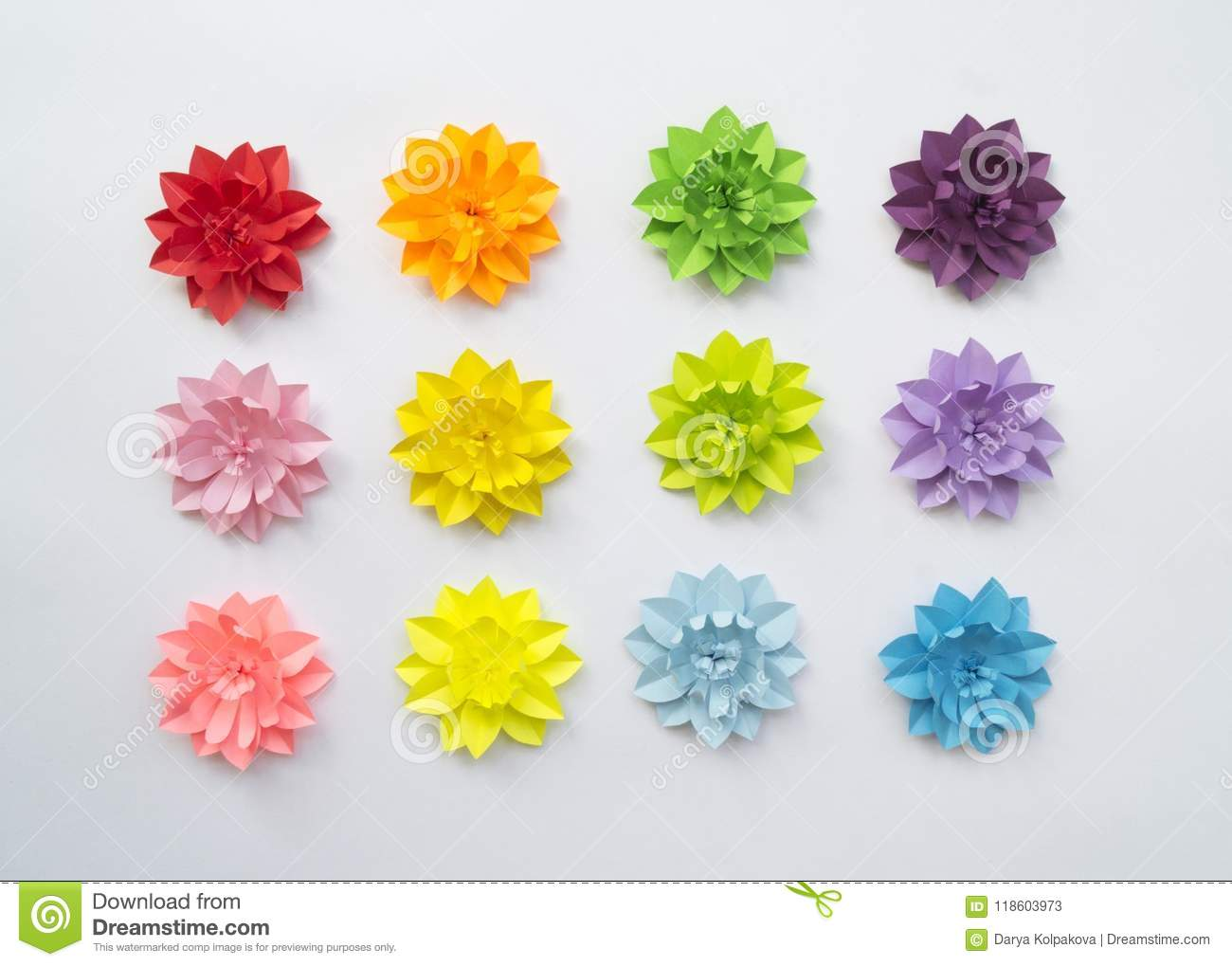 Paper craft flower decoration concept stock image image of paper craft flower decoration concept flowers and leaves made of paper tropics white background mightylinksfo