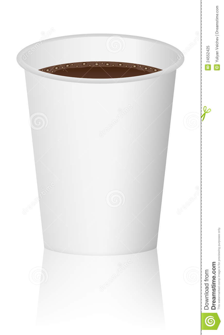 Paper Cup With Coffee Royalty Free Stock Photo - Image: 24552425