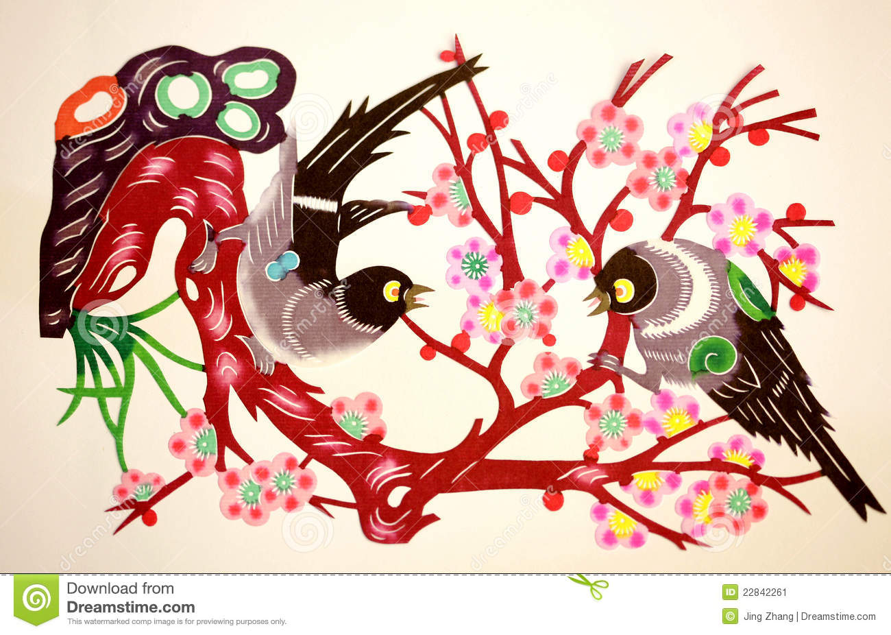 Traditional Chinese Paper Cut Stock Images 1028 Photos