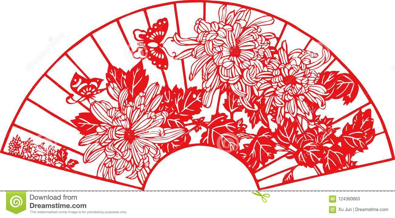 Chinese Paper Cut Template from thumbs.dreamstime.com