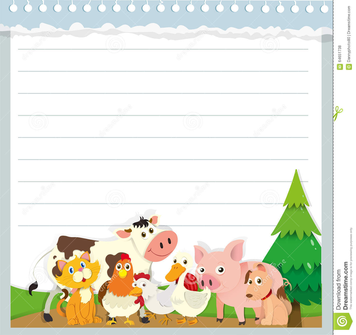 farm animal border writing paper White paper template with a monkey cartoon elegant green grass spring farm farm animal border writing paper yard resume summary statement for sales writing paper.