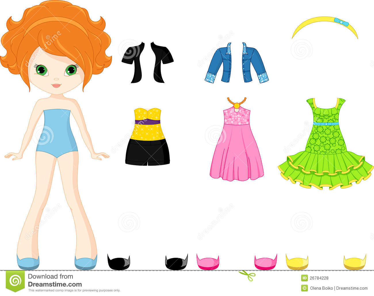 paper doll royalty free stock photos image 26784228