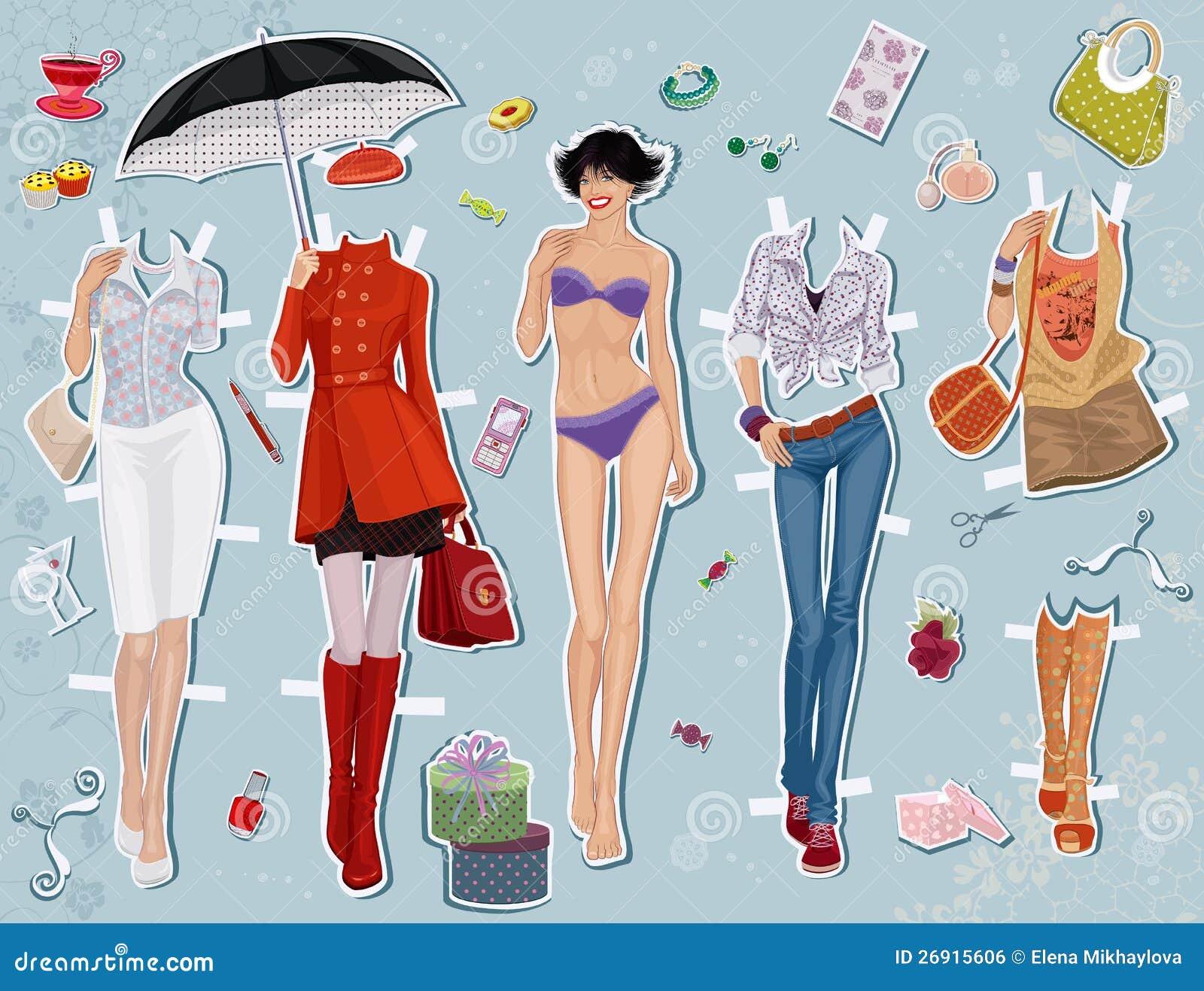 Free erotic paper dolls