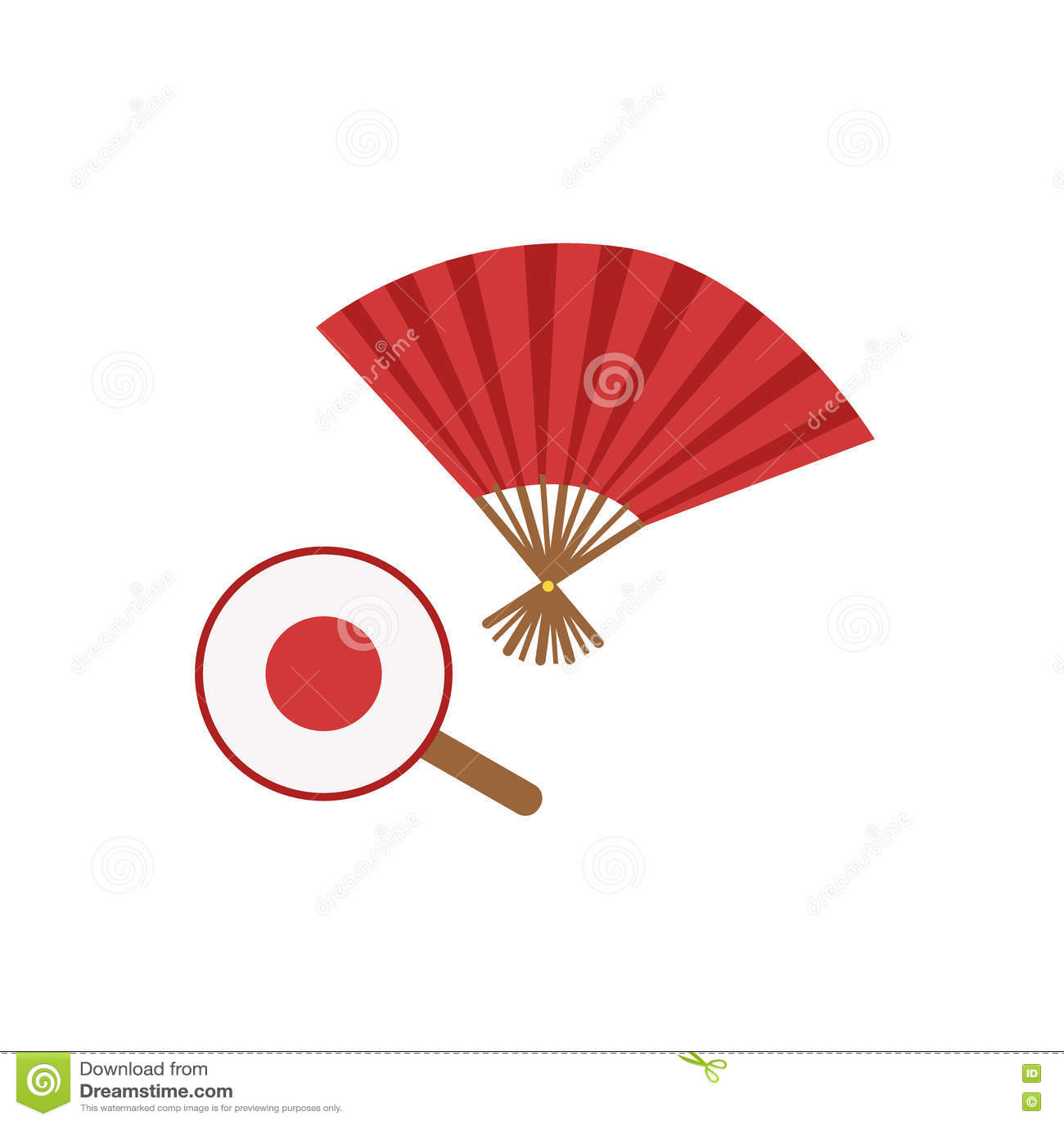 paper fan clipart. royalty-free vector. download paper fans fan clipart