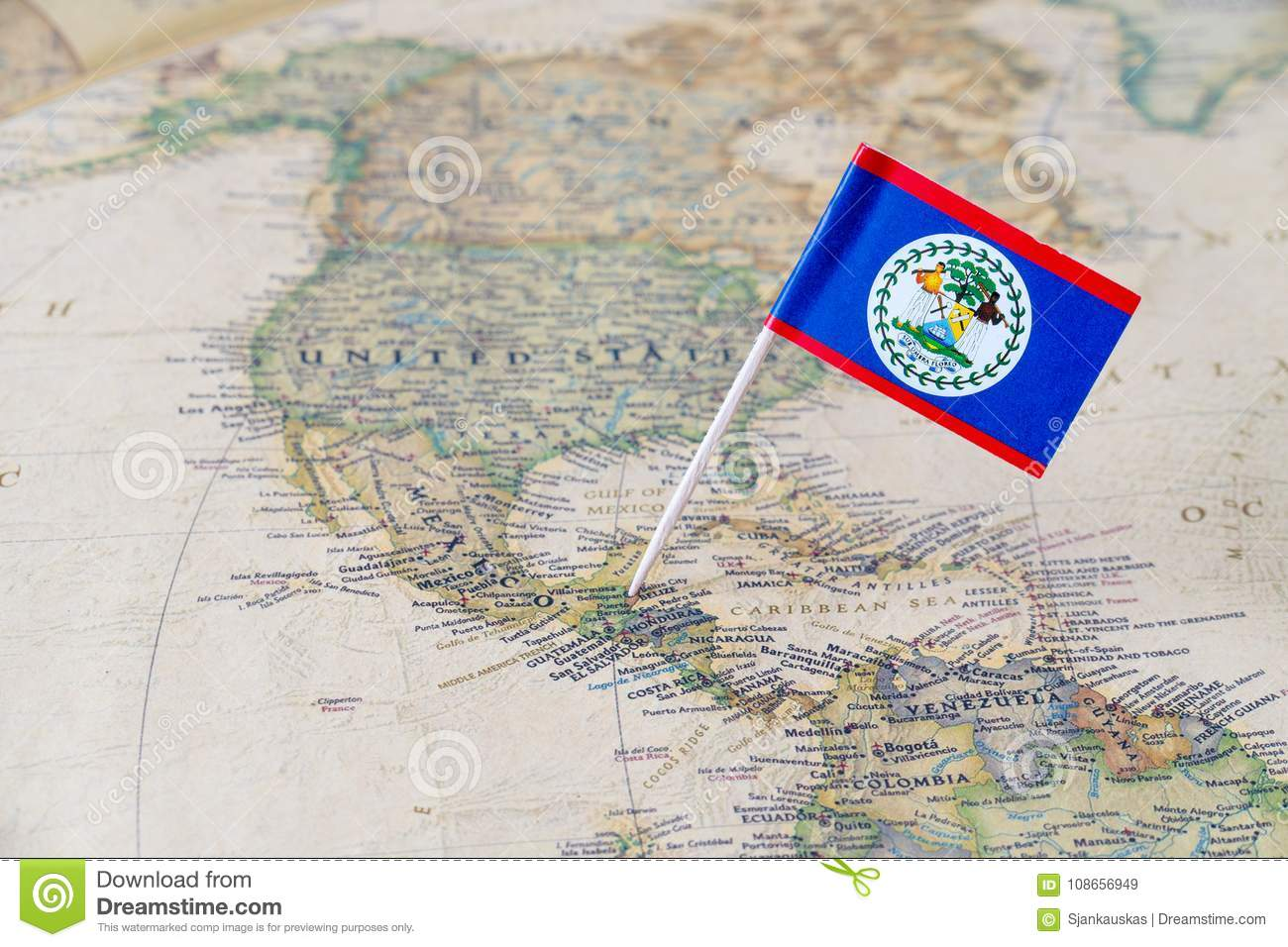 181 Belize Map Photos Free Royalty Free Stock Photos From Dreamstime