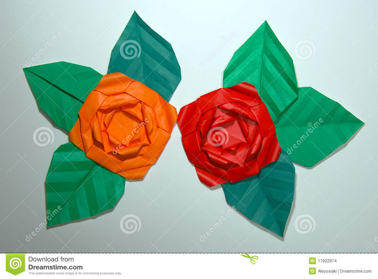 Paper Flower Stock Photo Image Of Origami Paper Tradition 17922974