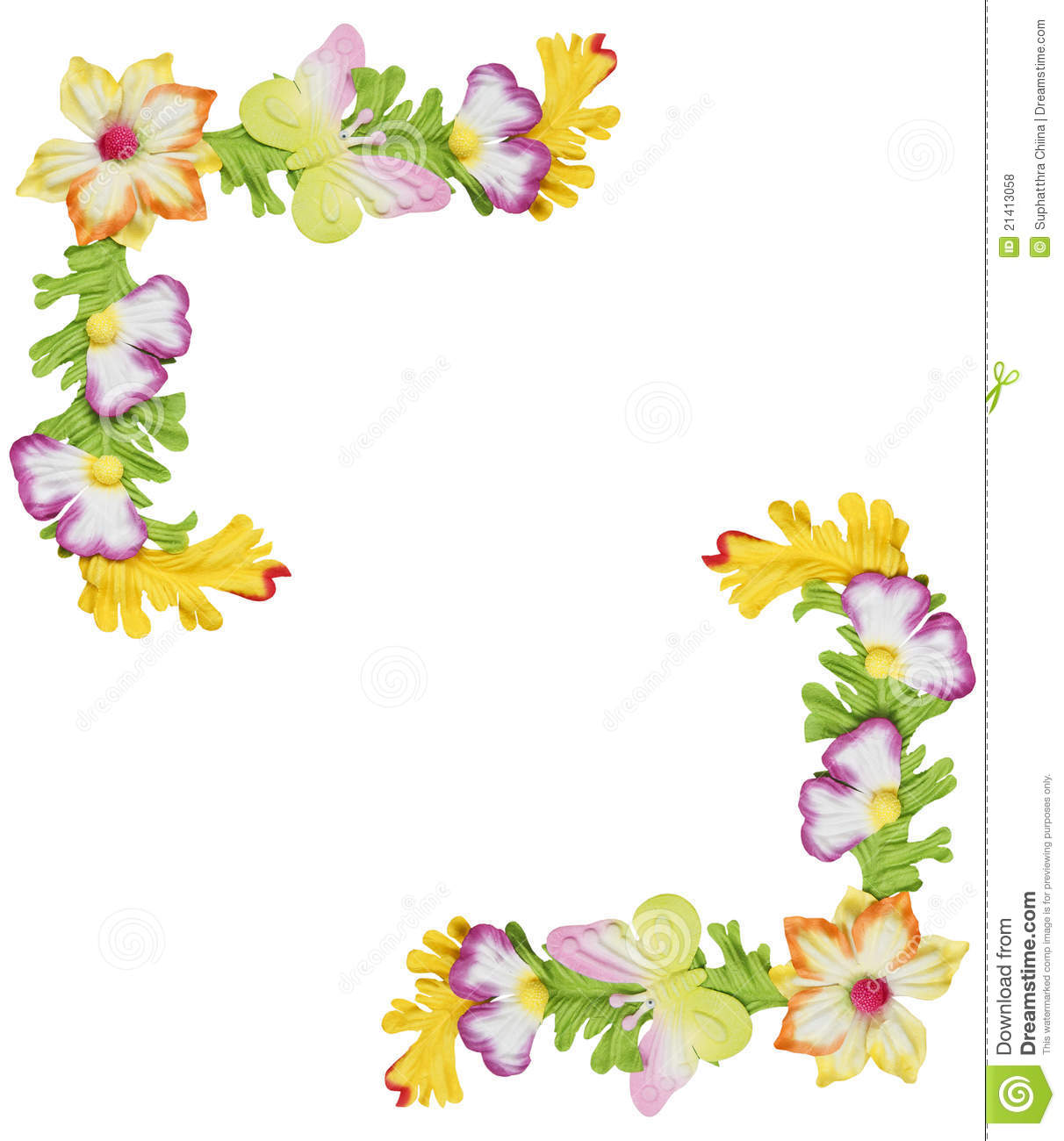 Flower Borders For Projects On Paper | www.pixshark.com ...