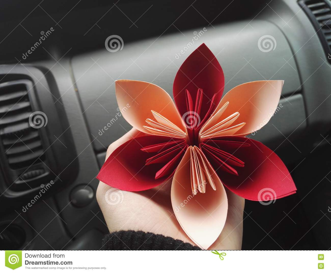 Paper Flower Stock Photo Image Of Folding Abstract 78620000
