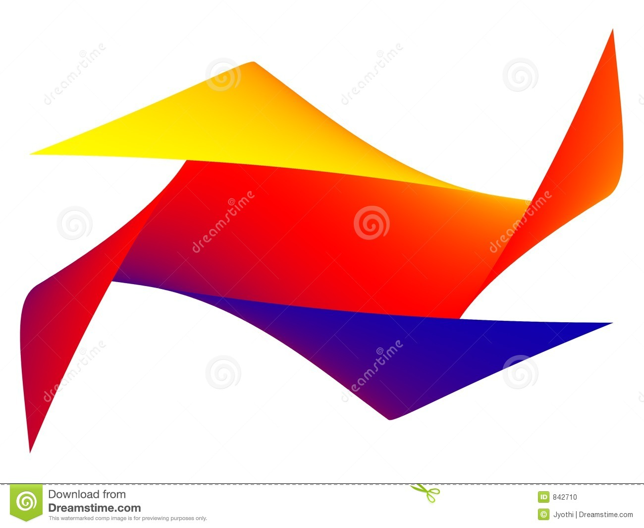 Paper folding craft stock illustration image of colorful for Craft work with paper folding