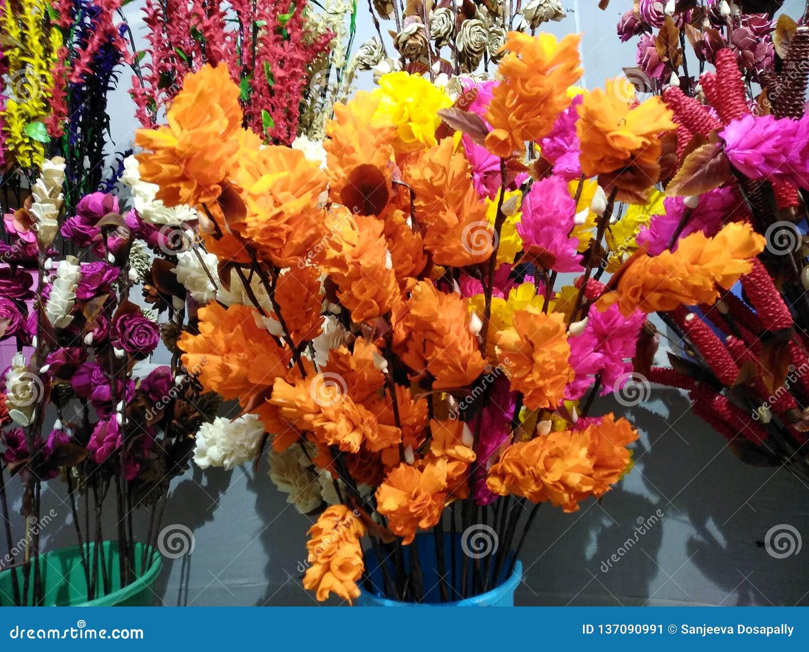 Paper foto för härliga blommor mycket