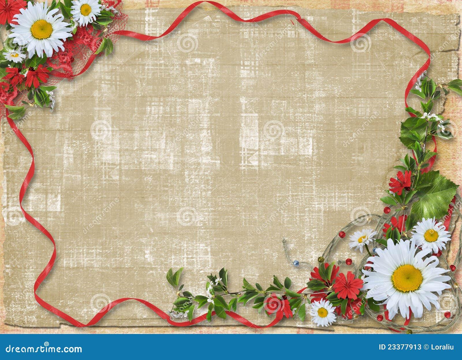 Красивые рамки для бумаги