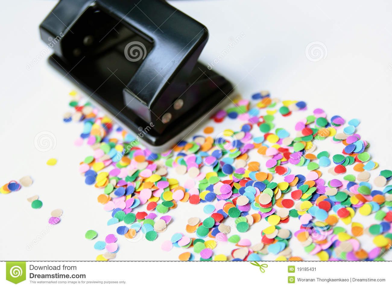 paper hole punch Press down on the three-hole punch with one sheet of scrap paper slowly and view what each coil is doing if the barrel is not inserted into the coil or if any of the barrel casings have loosened, the punch will stop working.