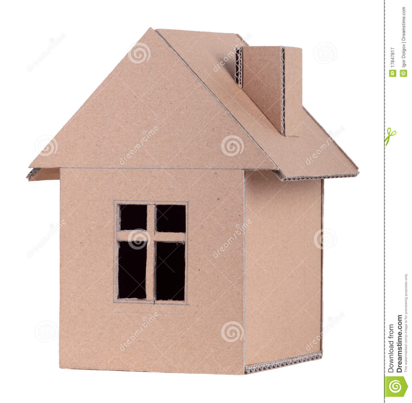 Paper House Royalty Free Stock Photography Image 17847817