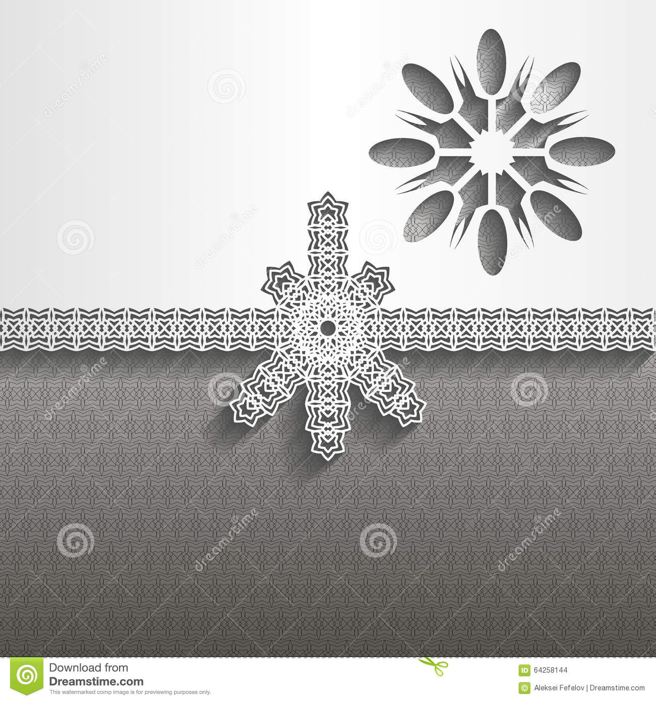 Template Greeting Card Royalty Free Stock Image: Paper Lace Greeting Card. Royalty-Free Stock Image