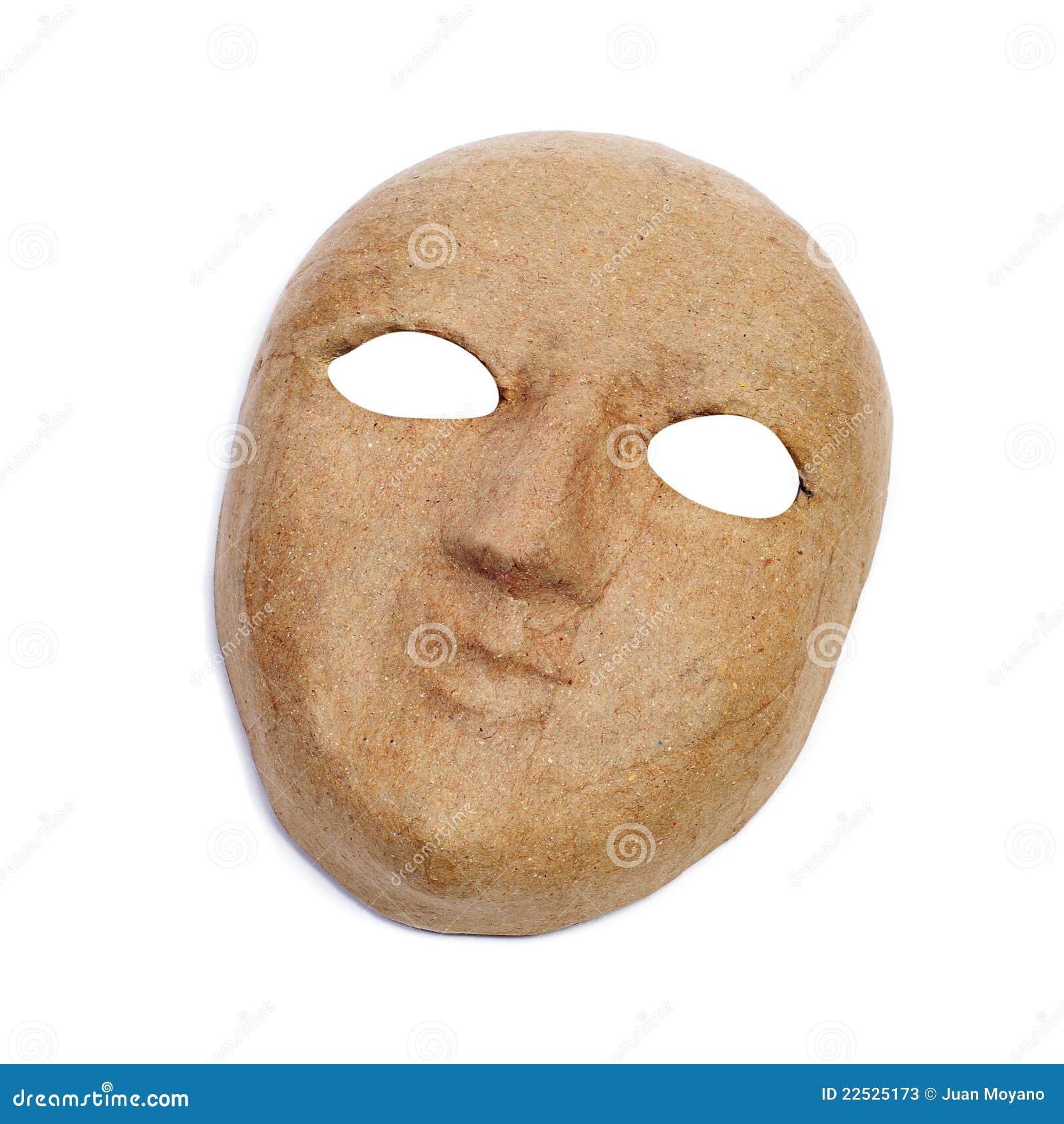 Paper mache mask stock photos image 22525173 - Masque papier mache ...