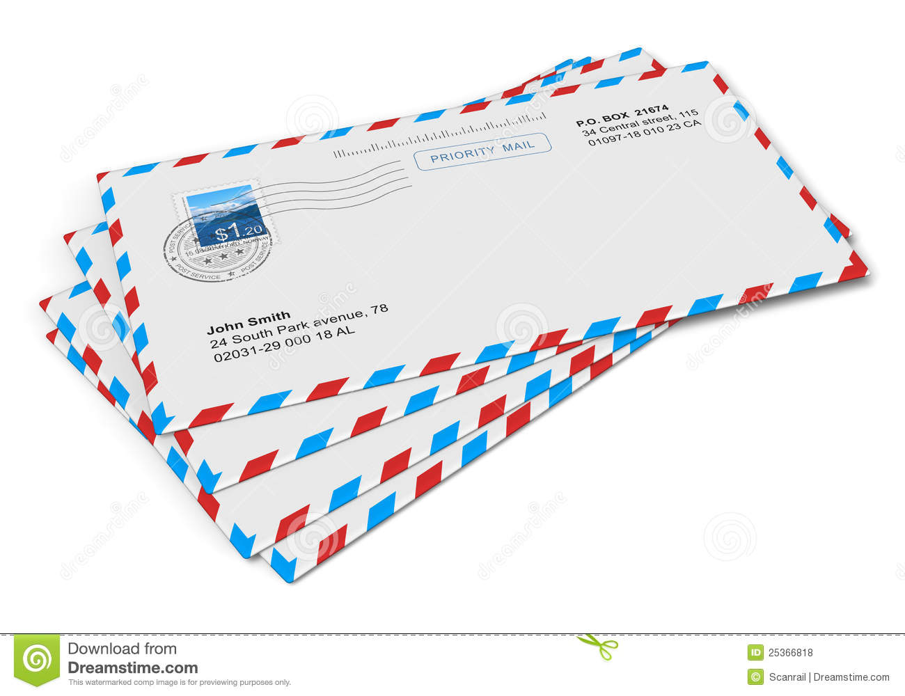 paper mail letters stock illustration illustration of messaging