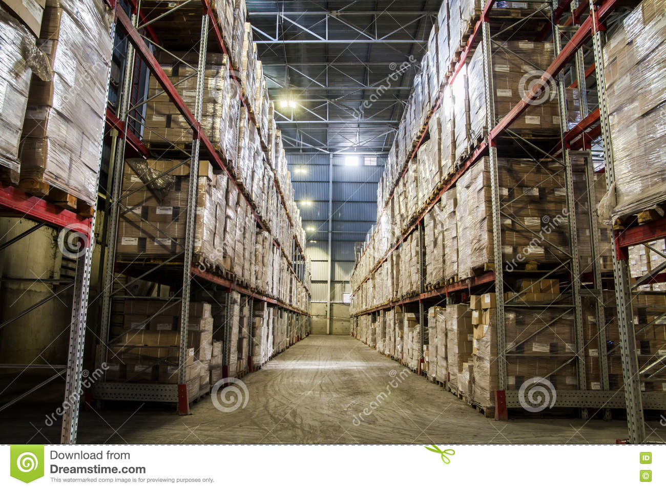 Warehouse manufacture paper