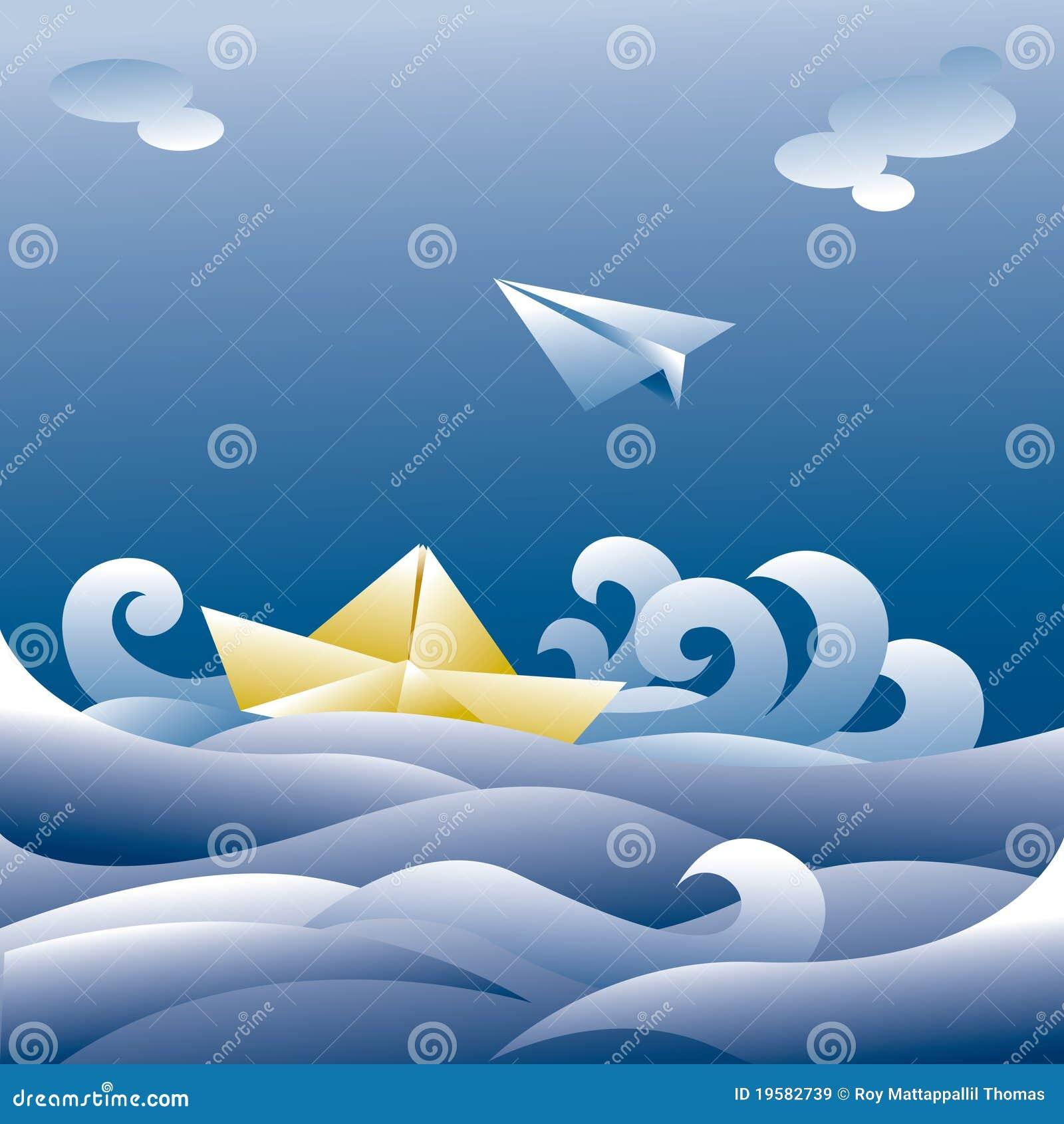 Paper nivå för fartyg