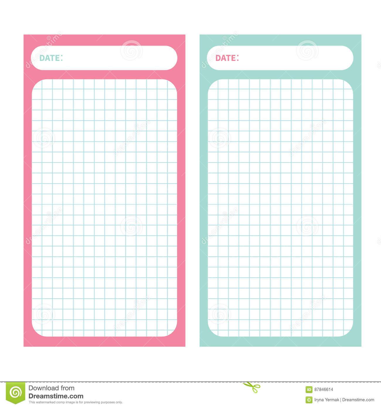 Paper note list pad planner set cell texture to do list organizer download comp maxwellsz