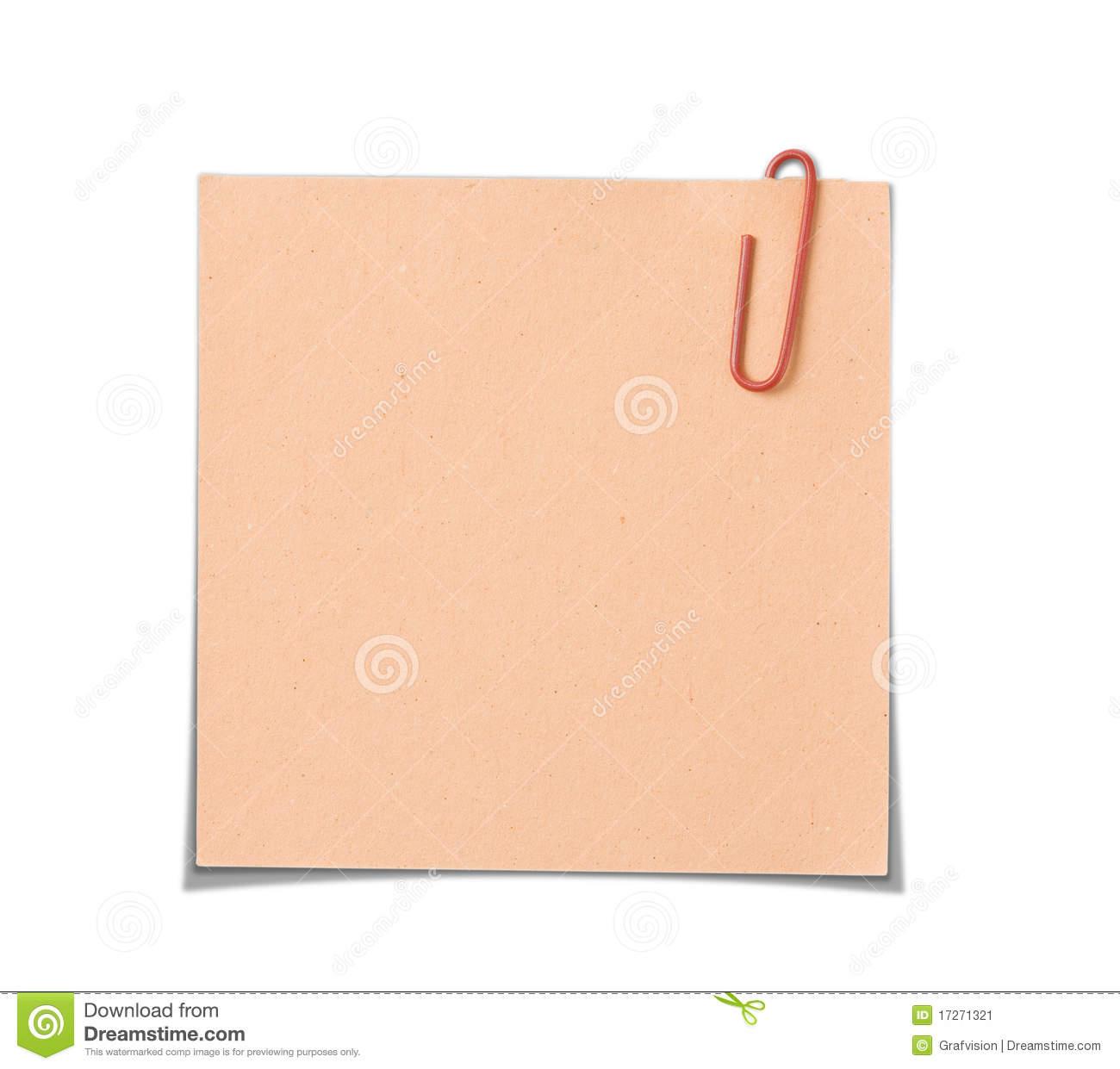 Paper Notes Stock Image - Image: 17271321