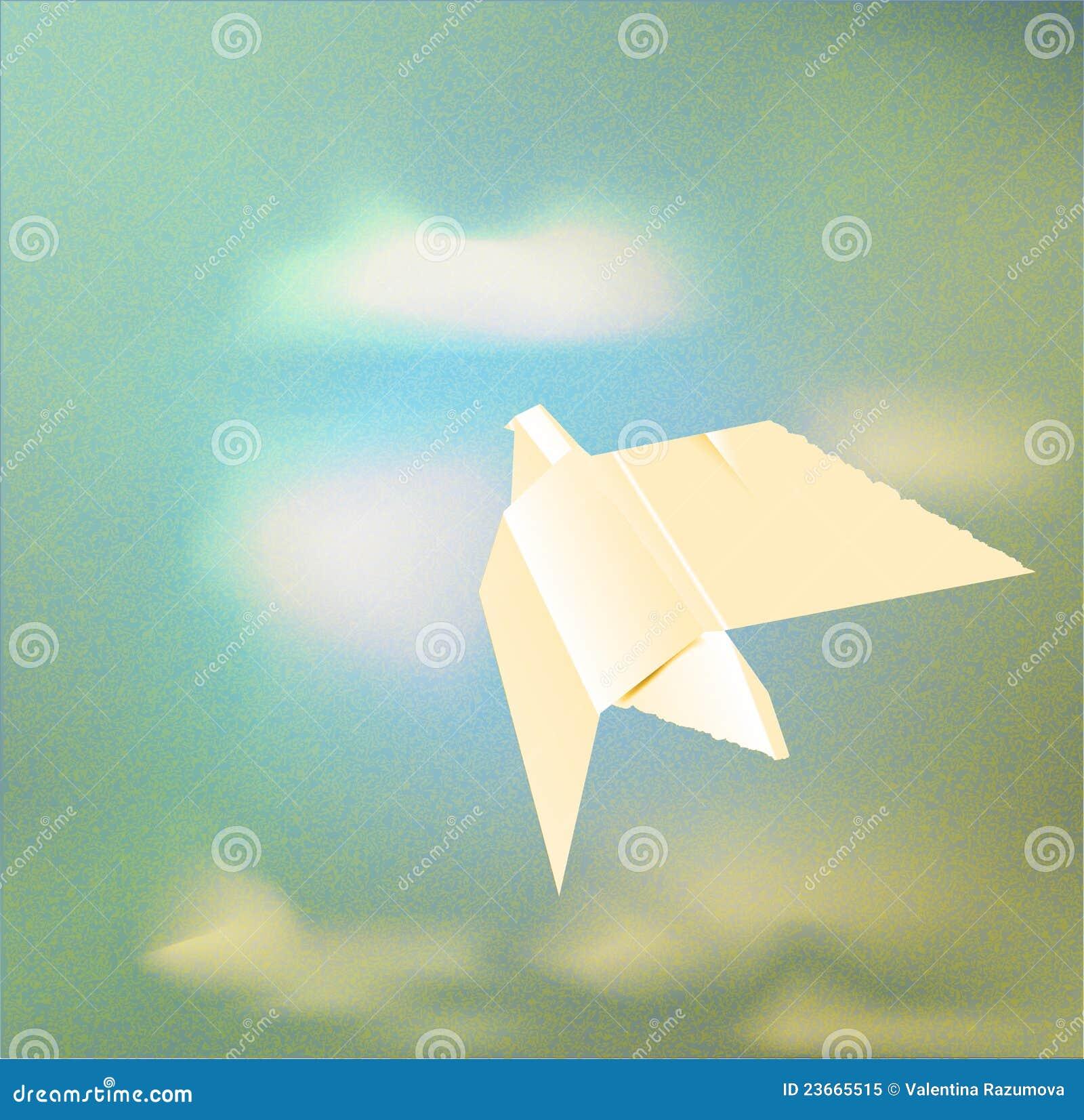 Paper Origami Dove Royalty Free Stock Photo - Image: 23665515 - photo#31