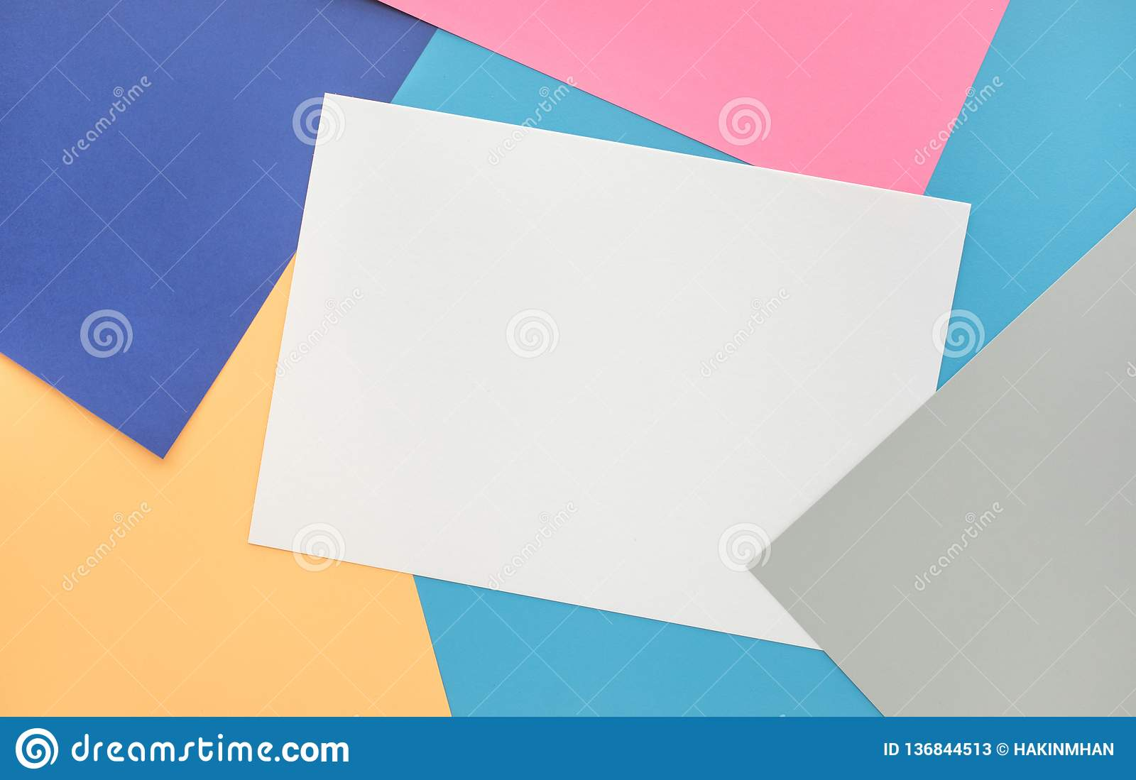 Paper pastel color background.For key visual layout