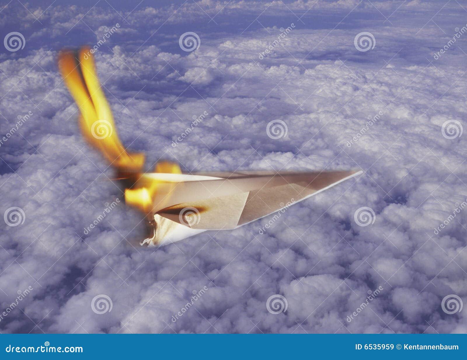 paper plane stock illustration - photo #28