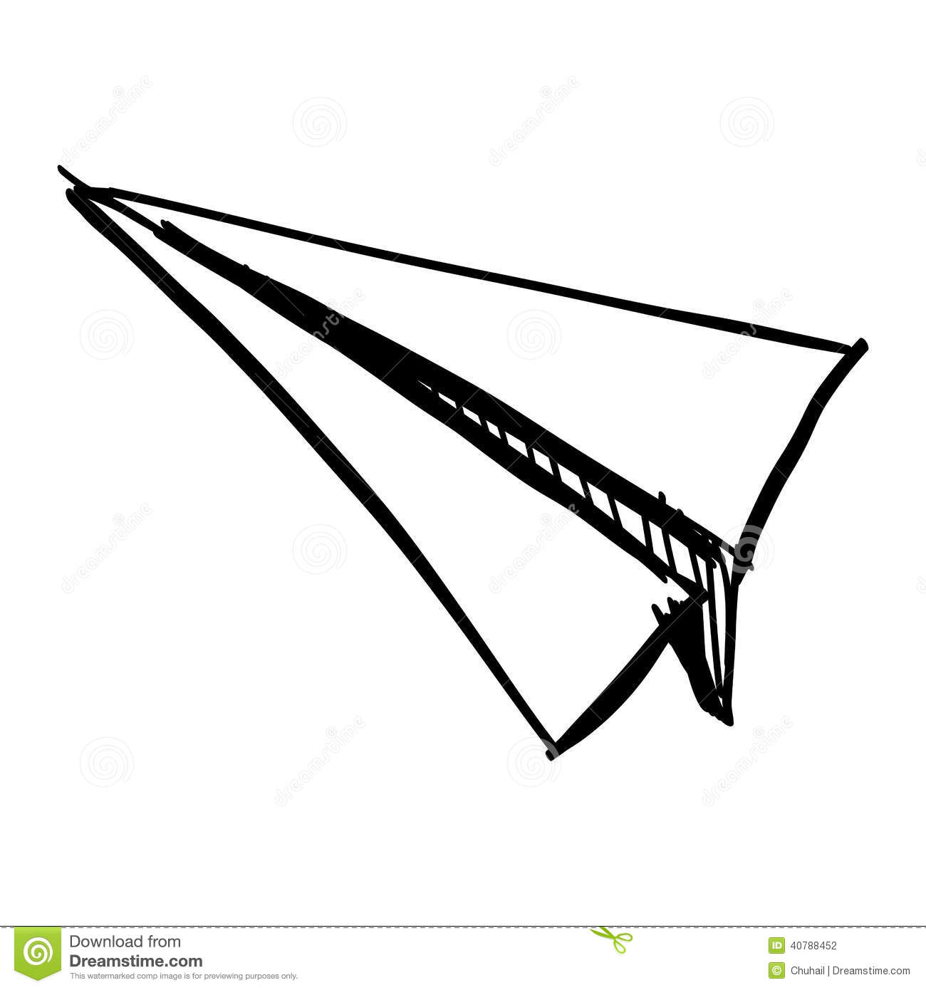 Paper Airplanes Drawings