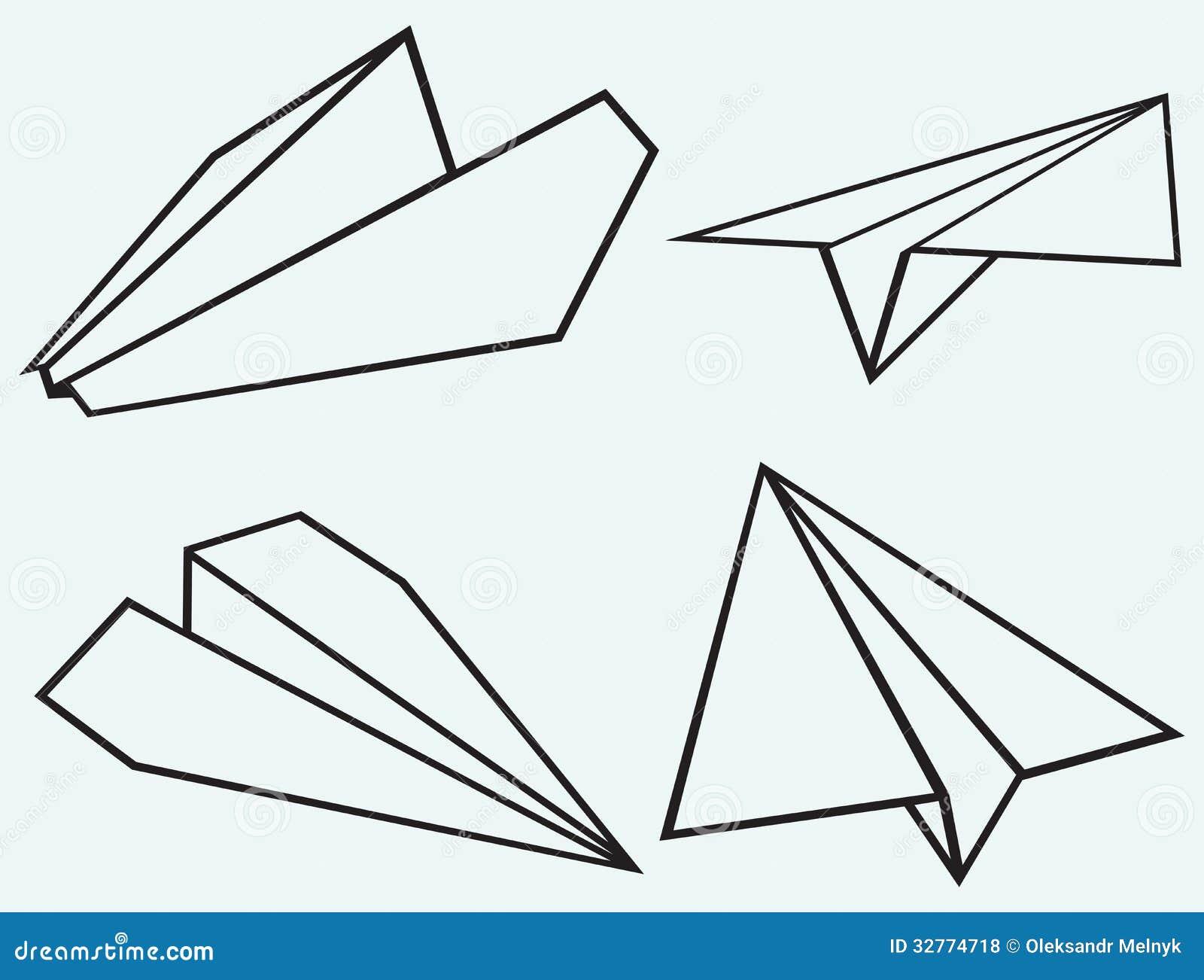 Paper Plane Royalty Free Stock Photos Image 32774718