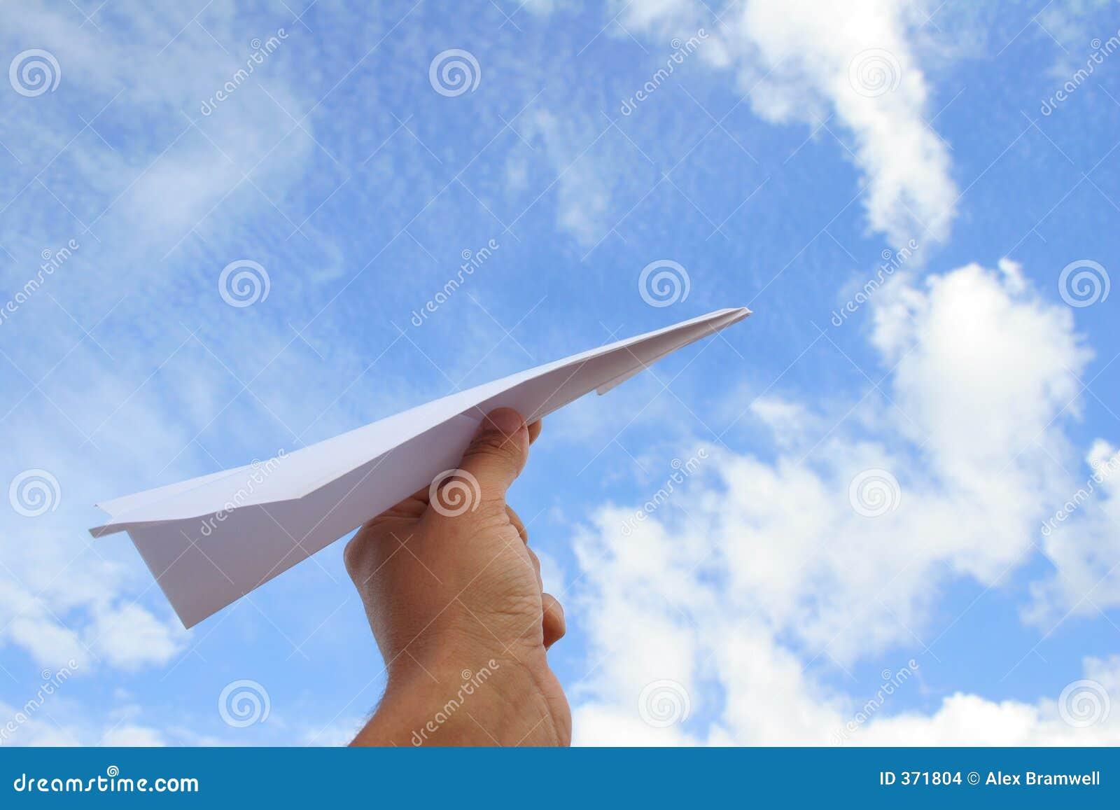 Paper Plane Launch