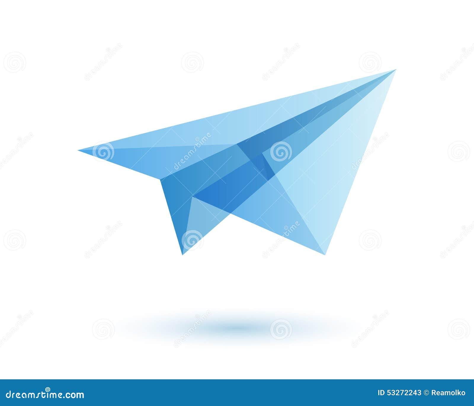 paper plane stock illustration - photo #11