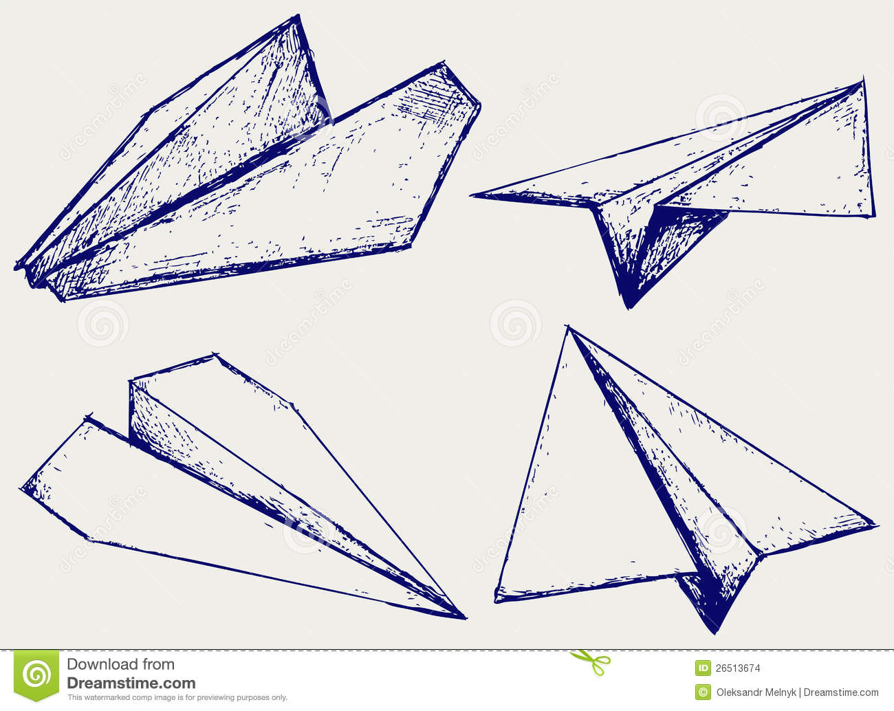 Paper Planes Stock Images - Image: 26513674