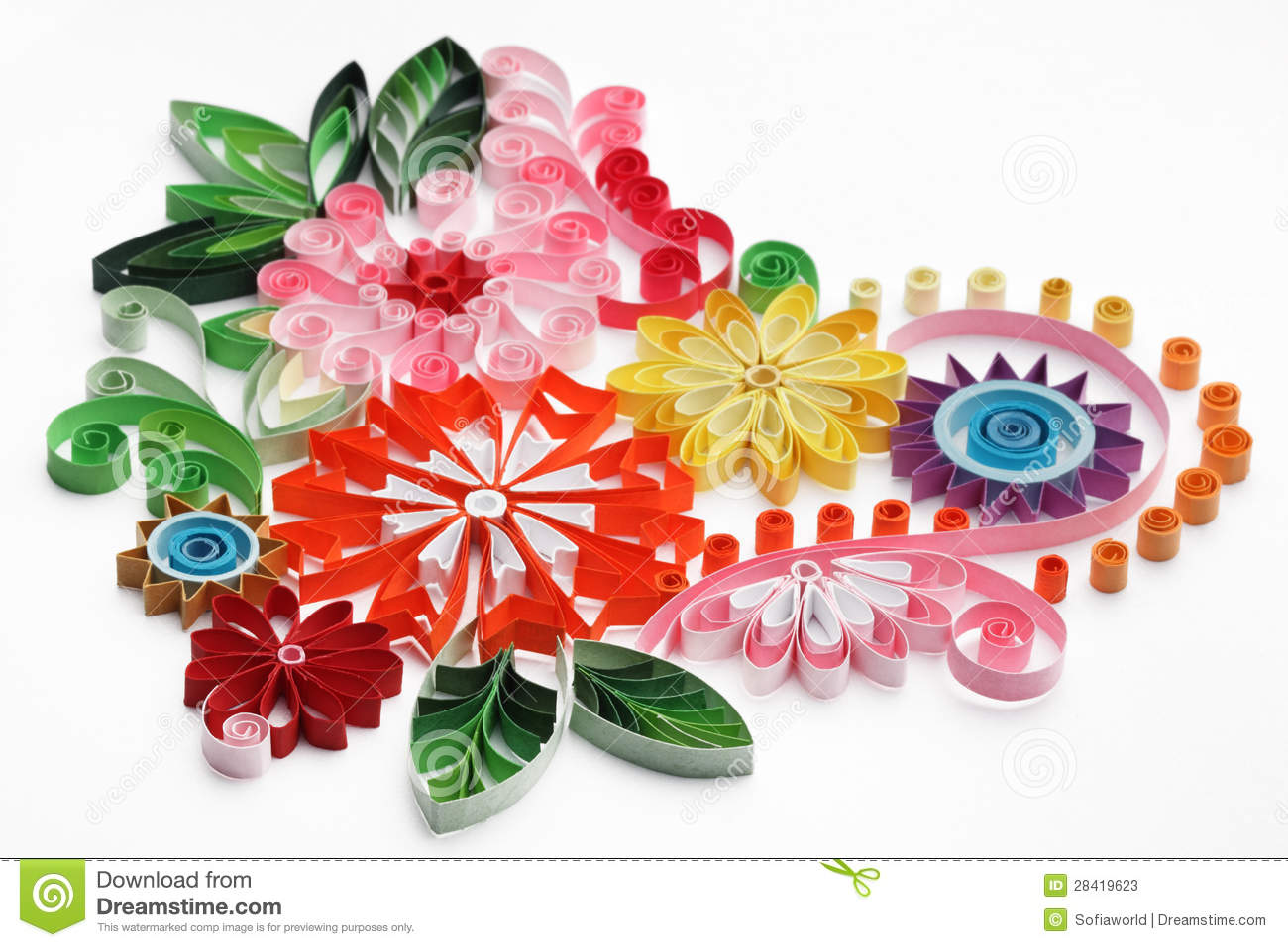 Quilling Stock Photos Royalty Free Images Dreamstime