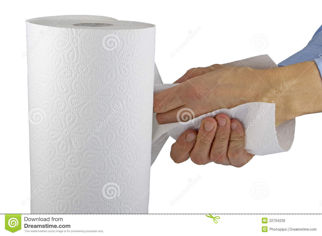 Paper Roll Royalty Free Stock Photo - Image: 22704235