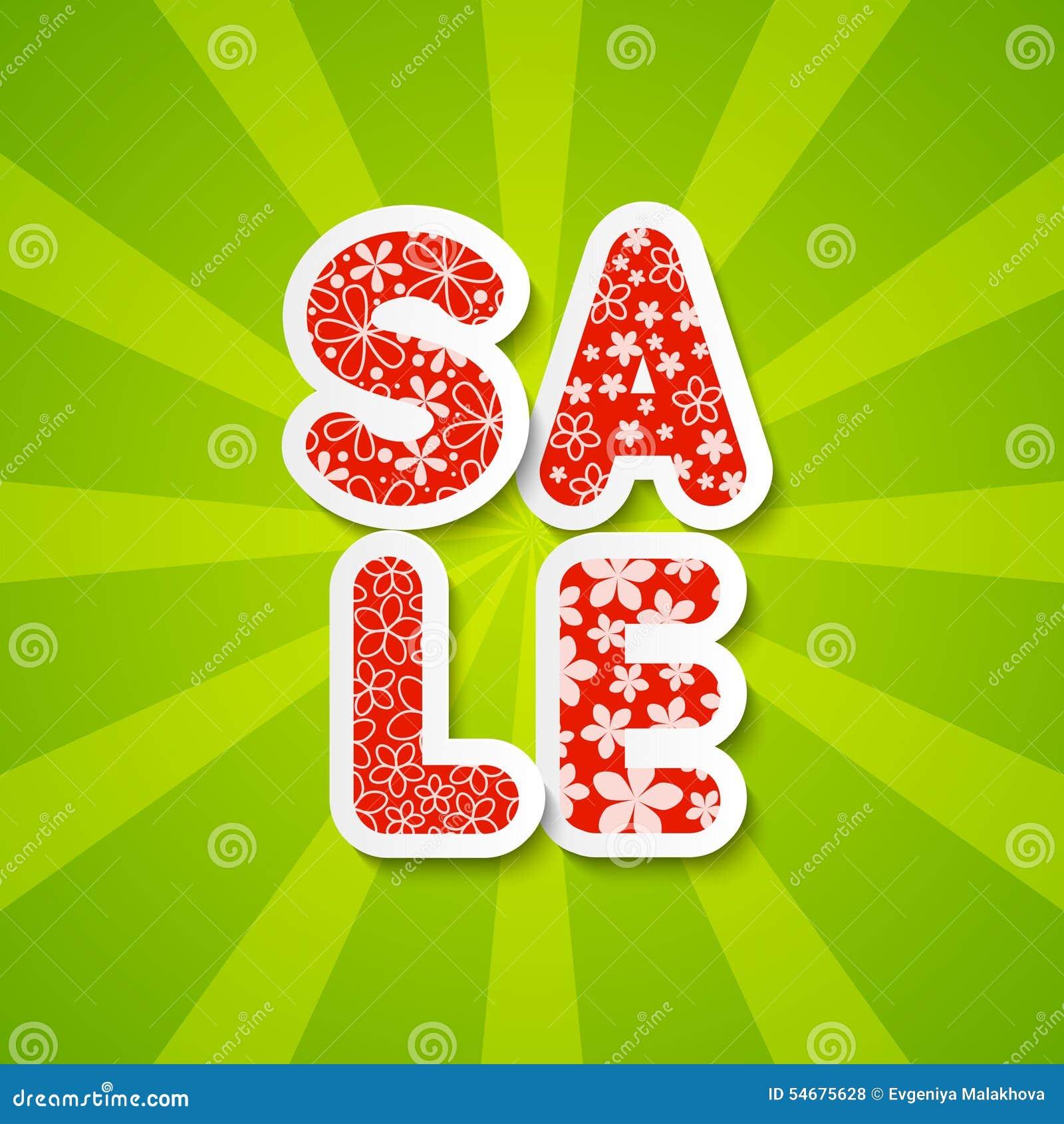 Paper sale