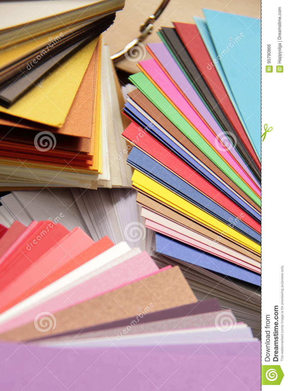 Paper Sampler Stock Photo Image Of Book Background 95790866