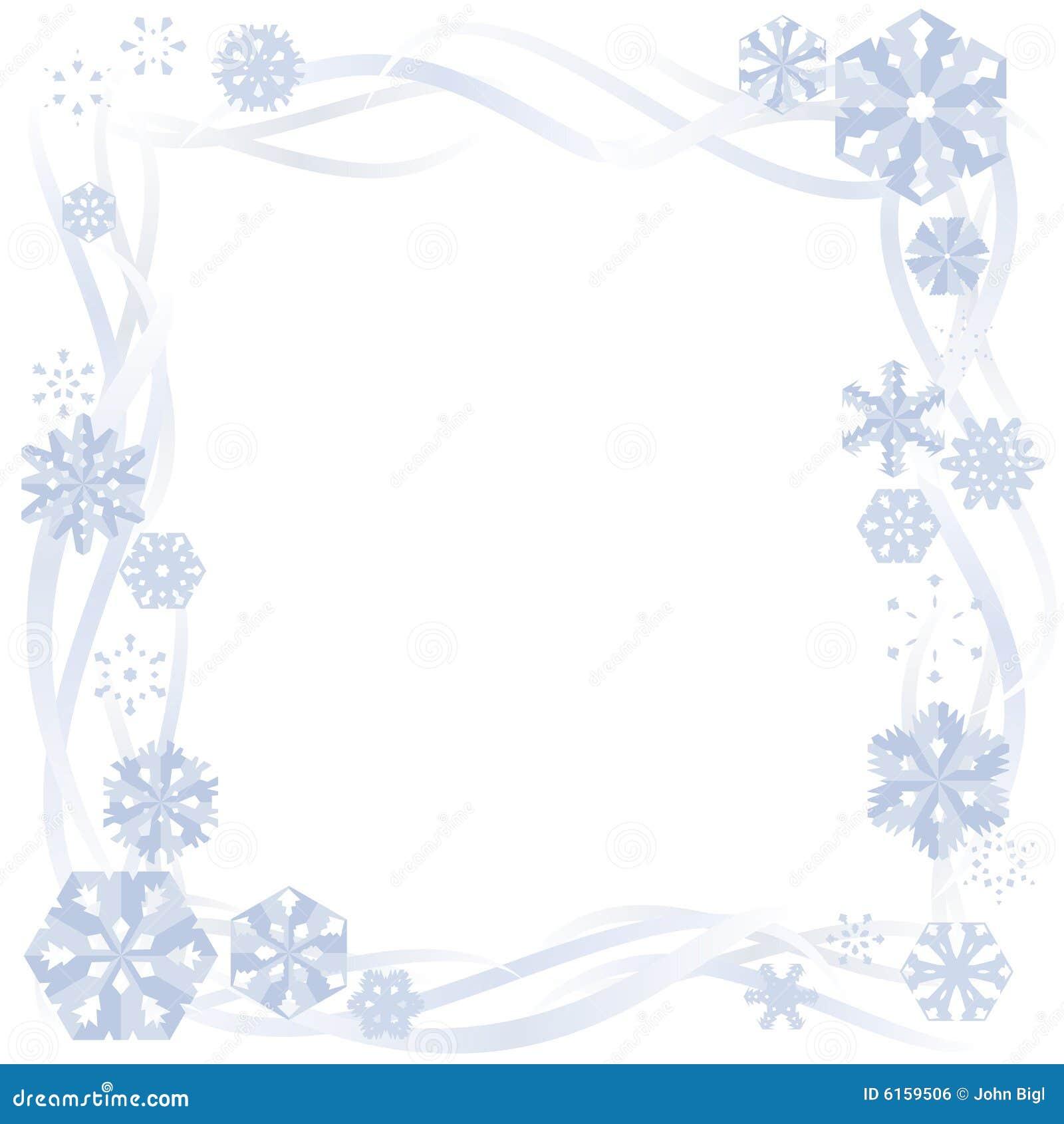 free snow clip art borders - photo #48