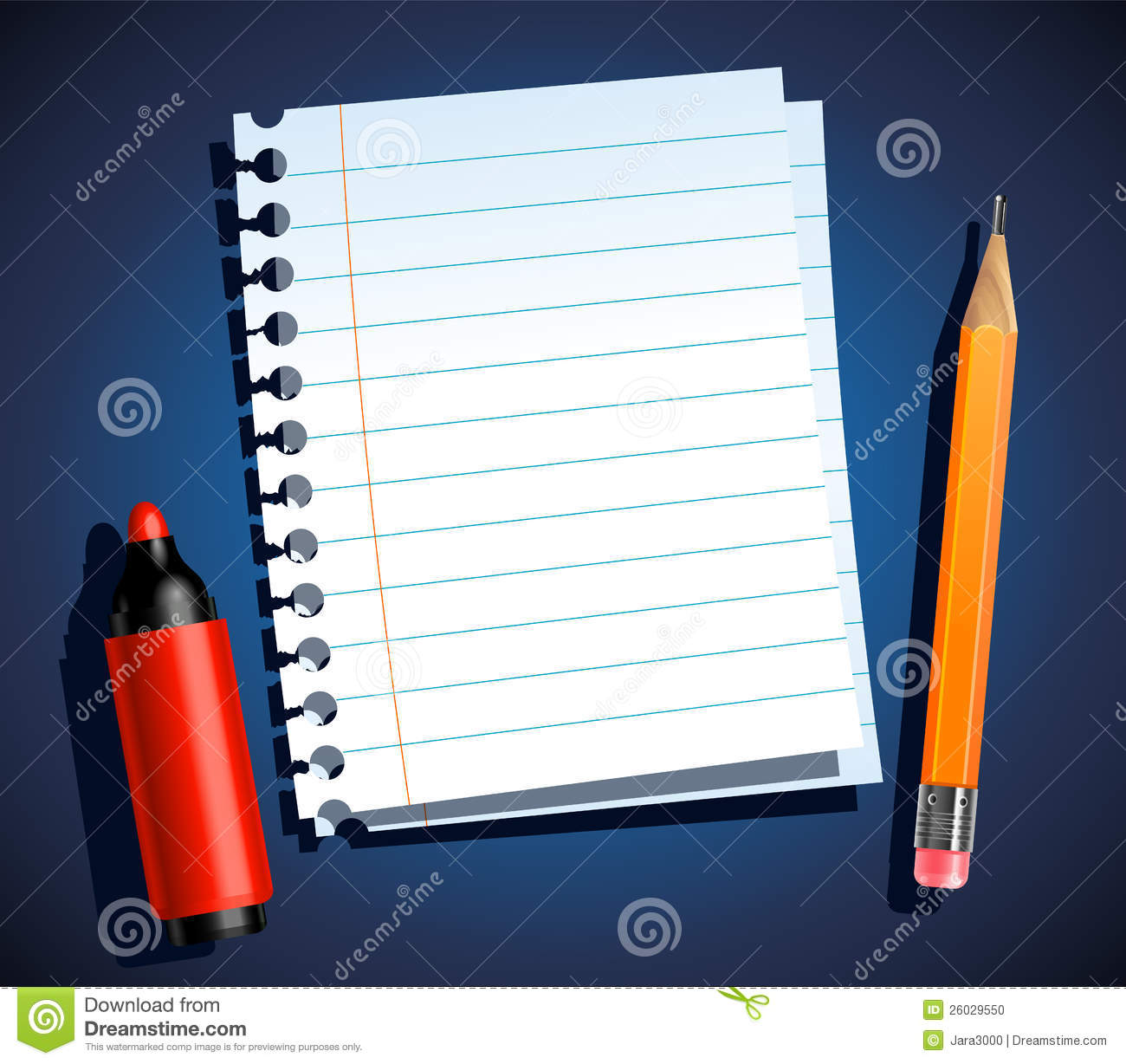 https://thumbs.dreamstime.com/z/paper-stationery-26029550.jpg