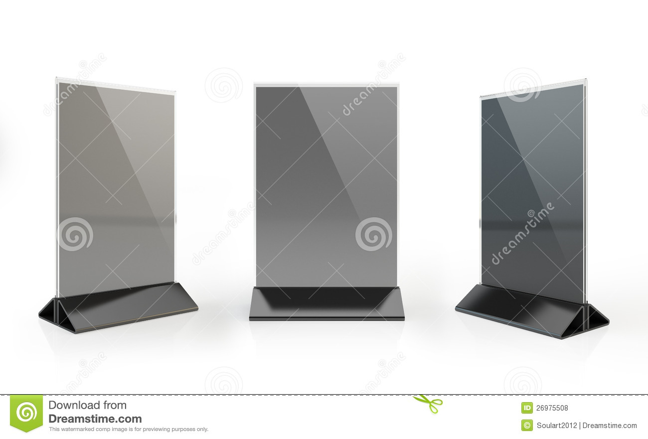 paper table tent stock illustration illustration of ready 26975508