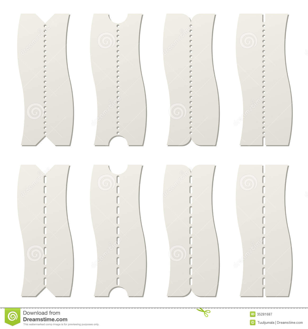 paper tear off template  royalty free stock photography