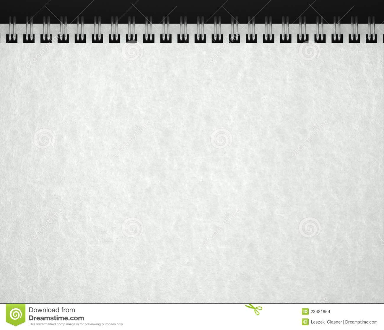 Paper Texture In Blank Note Book Stock Images - Image: 23481654
