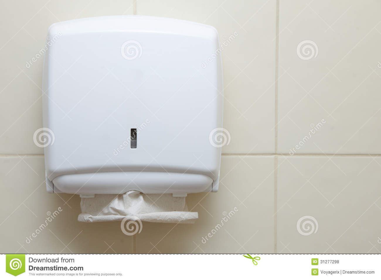 Paper Towel Dispenser In The Bathroom Royalty Free Stock Photos Image 31277298