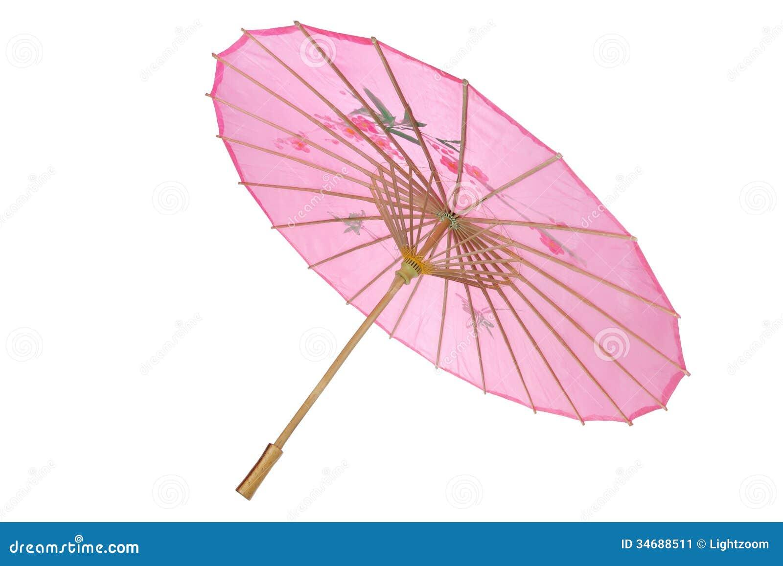 Paper Umbrella Stock Image - Image: 34688511