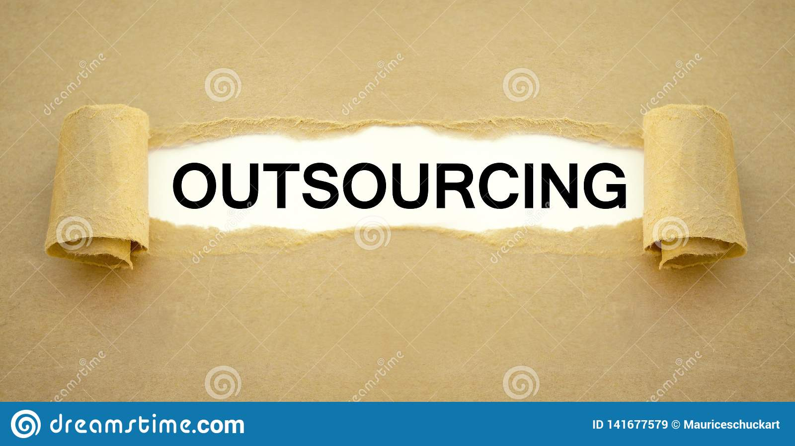 Paper work with outsourcing