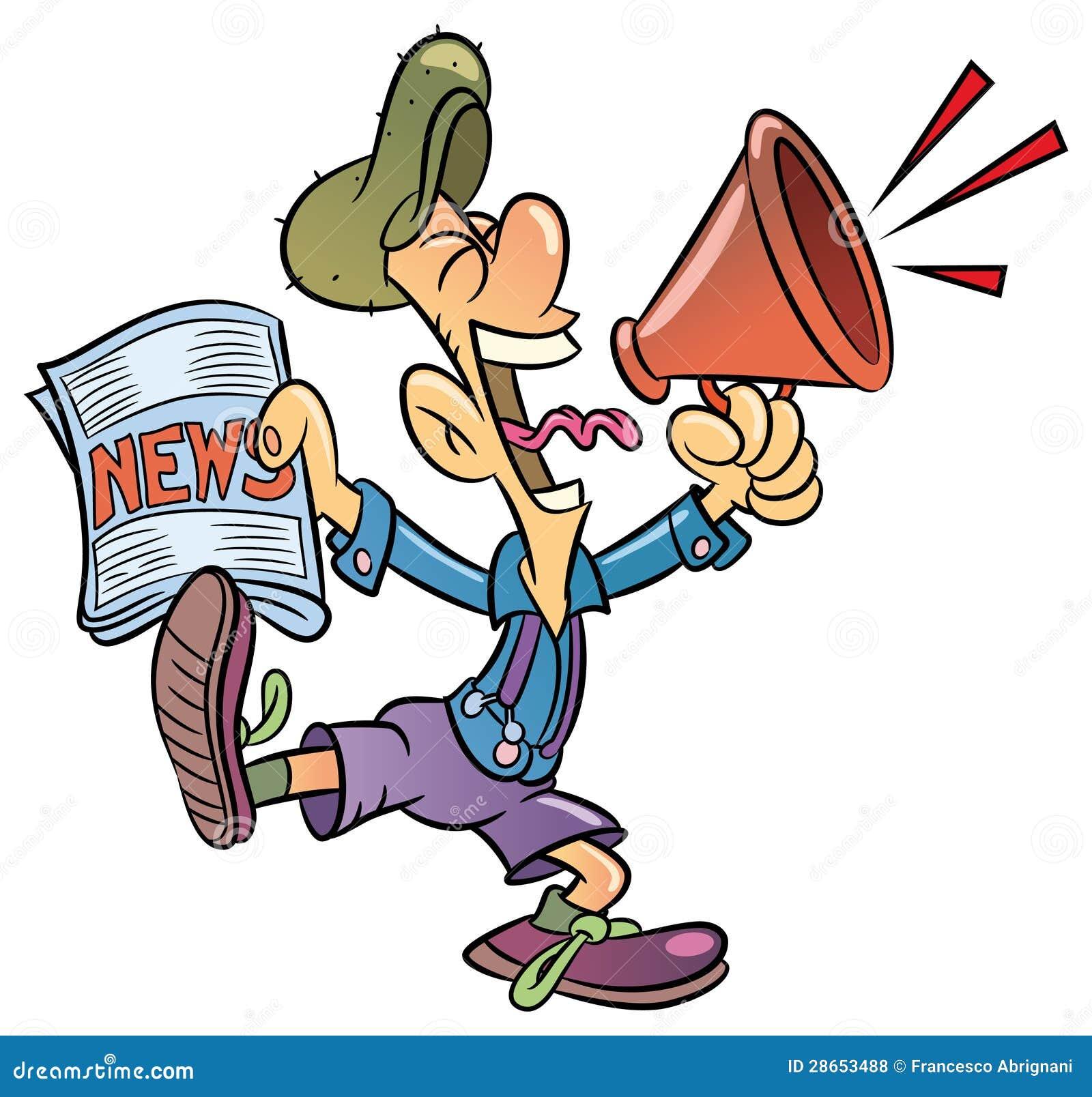 paperboy royalty free stock photos image 28653488 Cheerleading Megaphone Clip Art Printable Cheerleading Megaphone Clip Art Printable