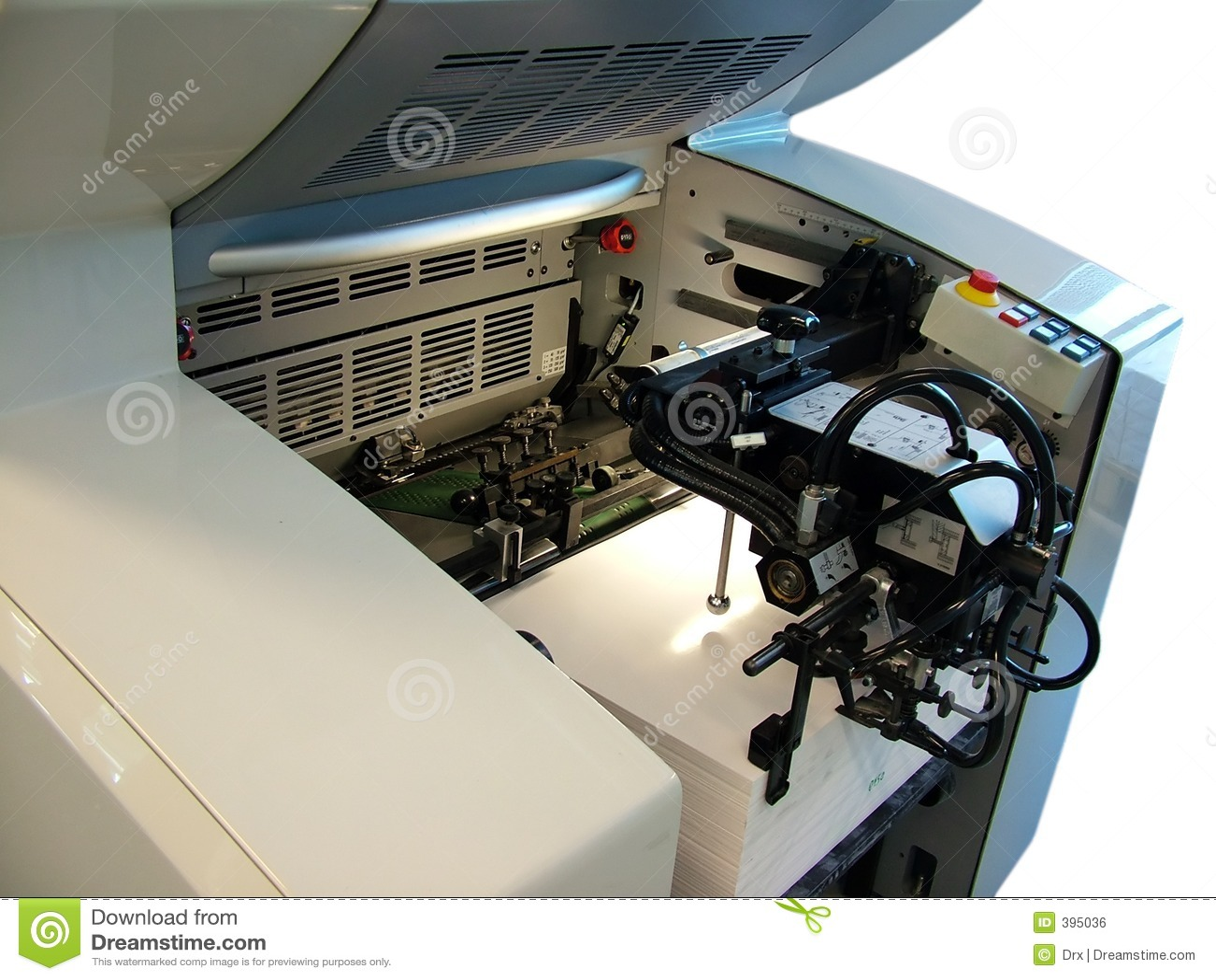 Paperfeeder - drukpers