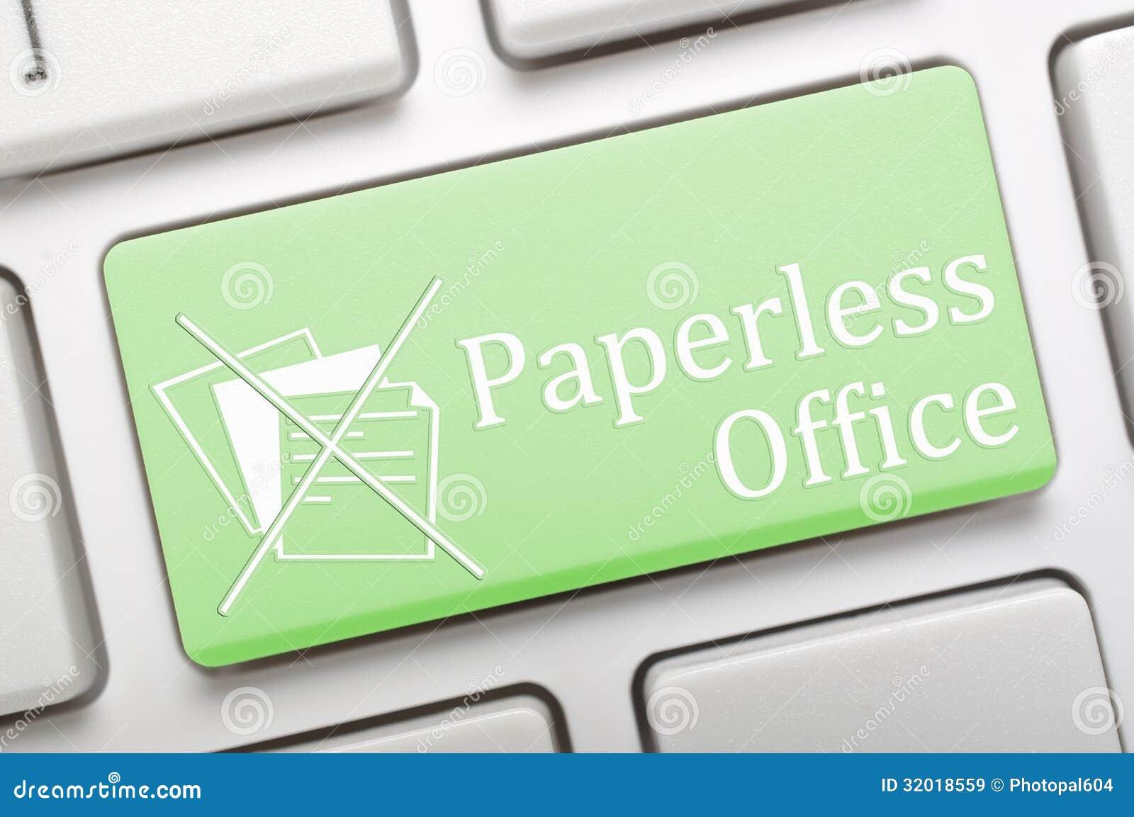 Paperless kontor