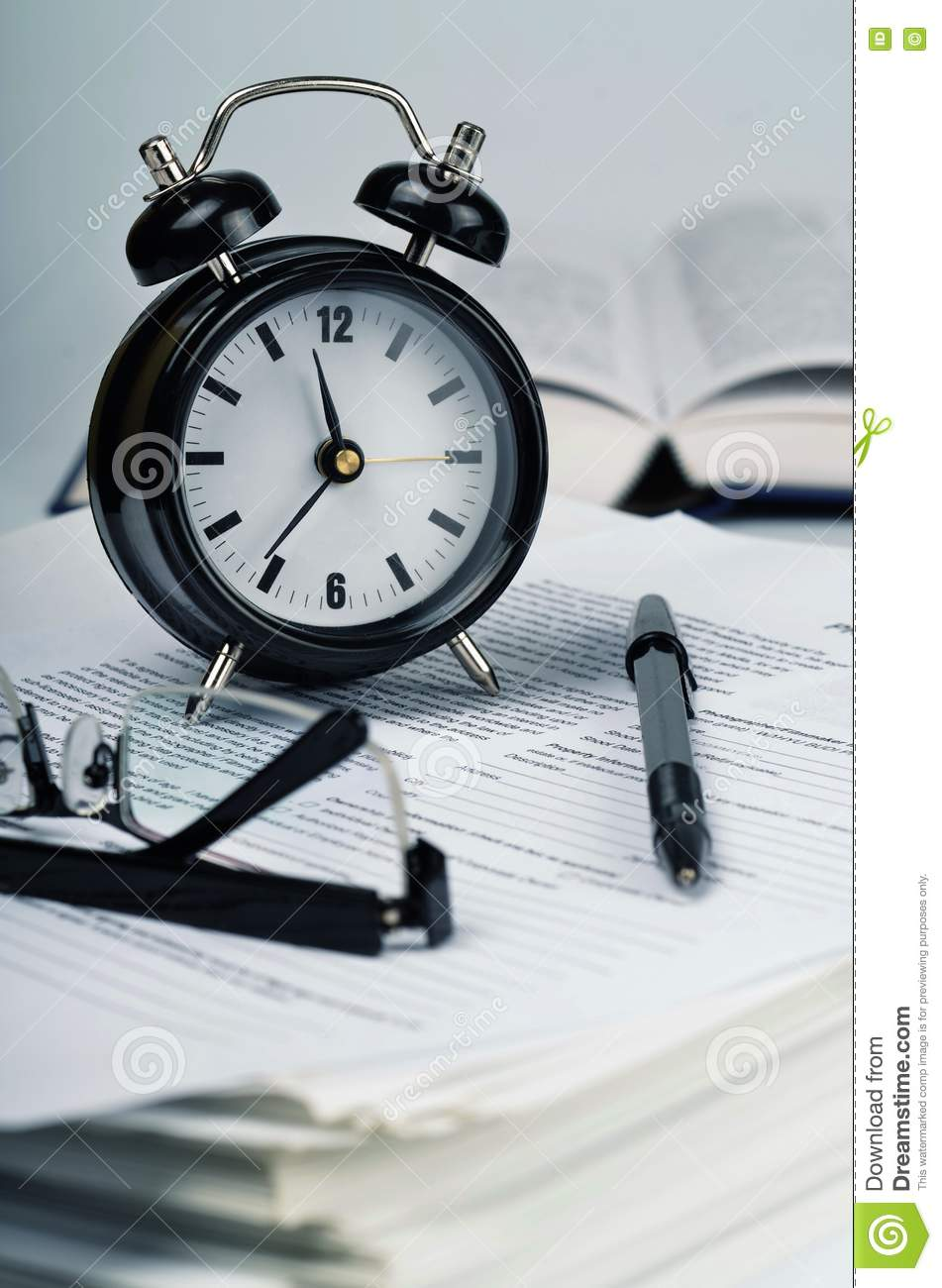 Paperwork & Time Efficiency 02 Stock Images - Image: 22884394
