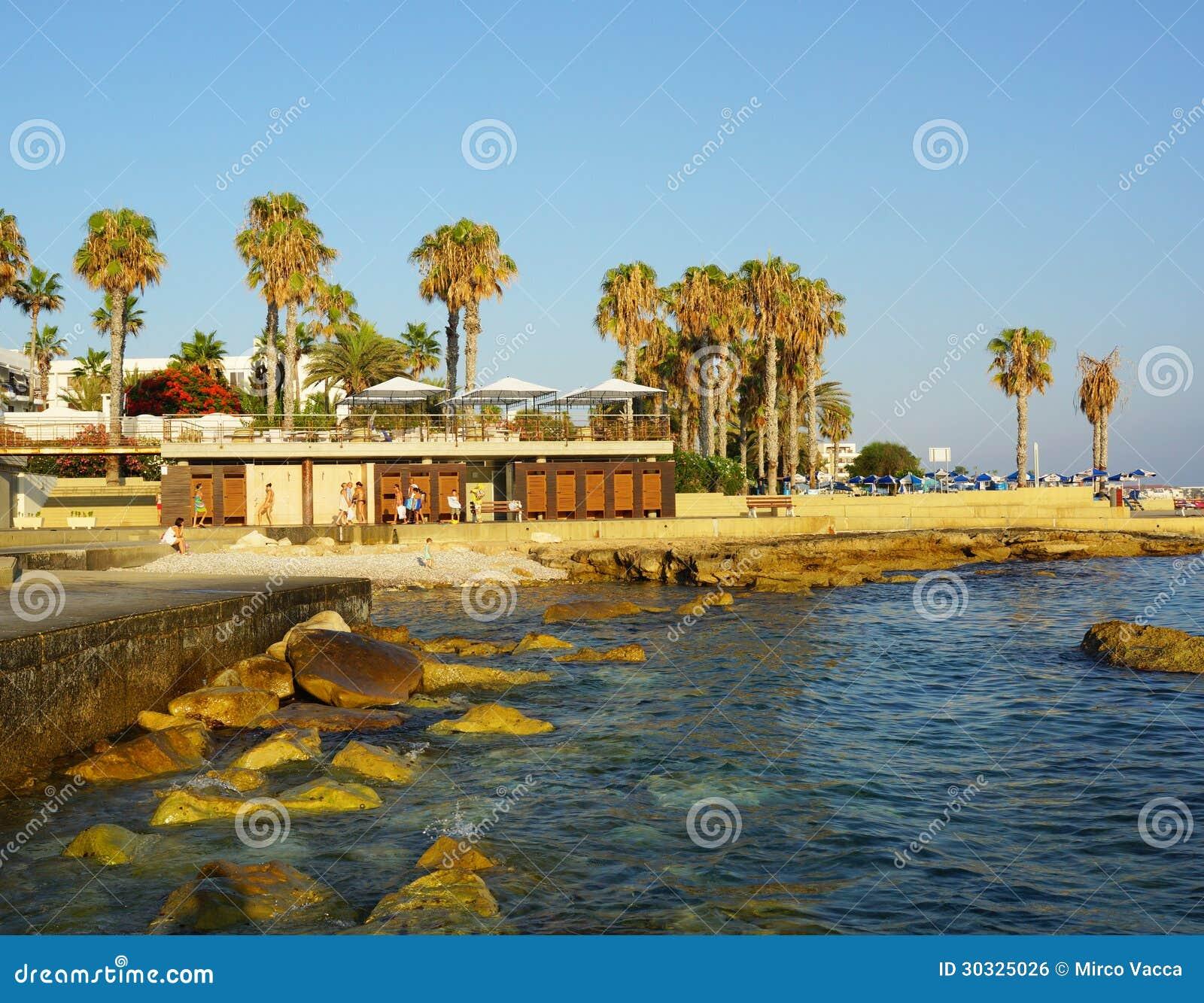 塞浦路斯的海岸